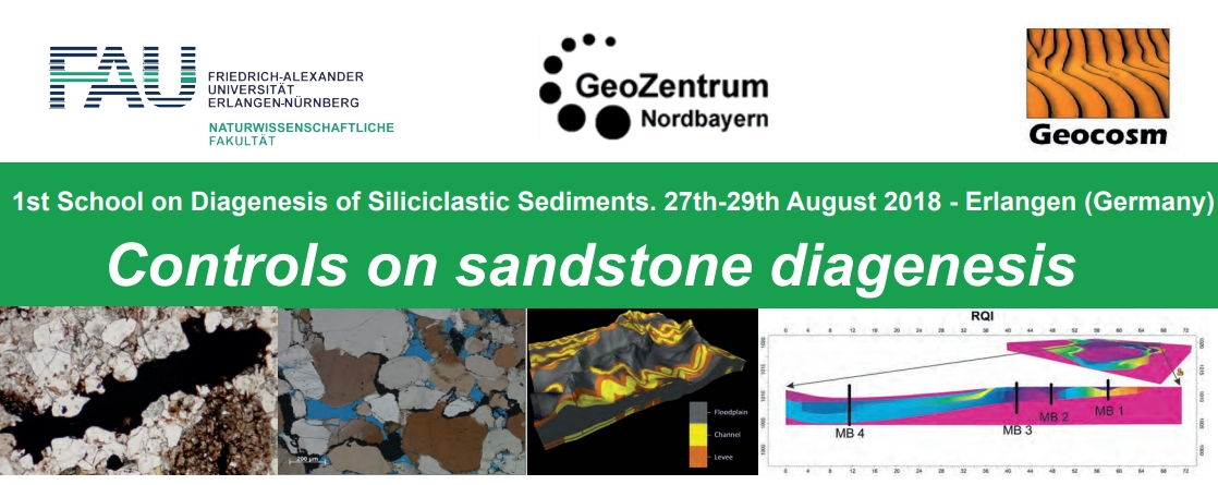 "Towards entry ""1st School on Diagenesis of Siliciclastic Sediments"""