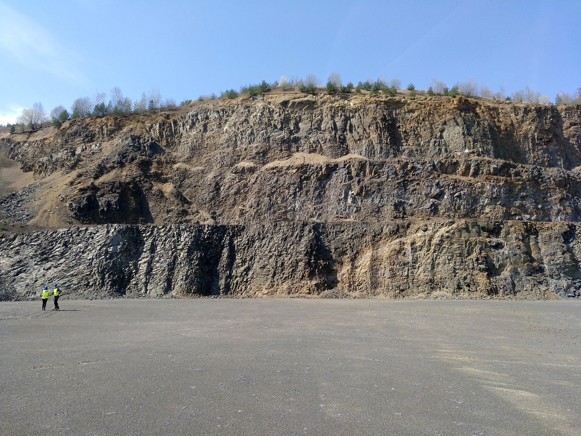 Low angle faulting at Zeilberg (image: Drews)