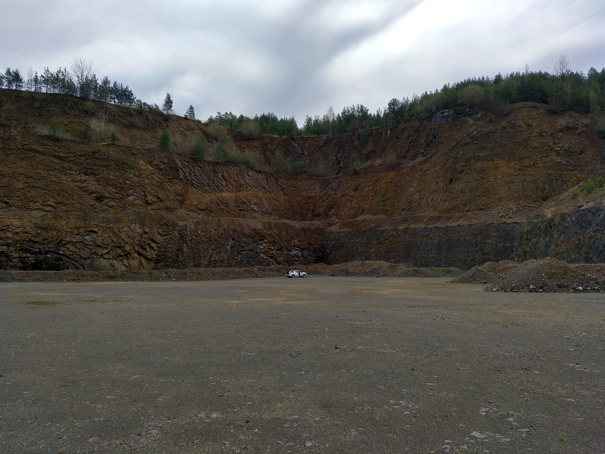 South-Eastern part of the Zeilberg quarry (image: Drews)